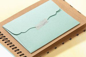 Use envelopes cut from the Cricut® Artfully Sent cartridge to present gift cards, movie tickets, or a few dollars as a surprise gift.