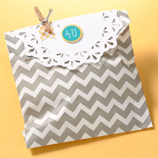 Party Favor from a Designer Creations Paper Bag