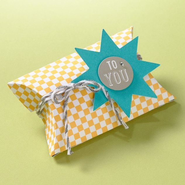 Party Favor from a Cricut® Artiste Box