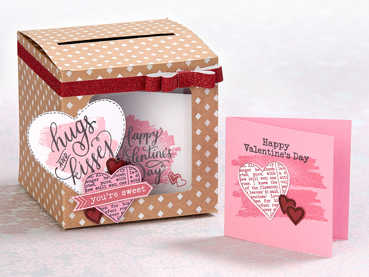 valentine box and cards