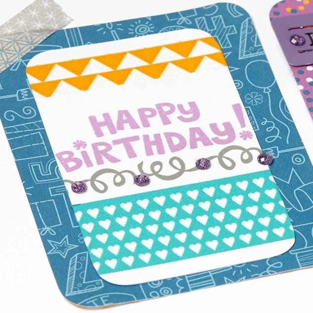 Confetti Wishes Birthday Page