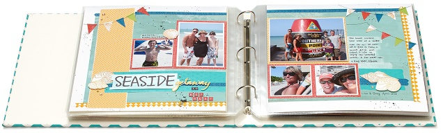 Travel layout in album