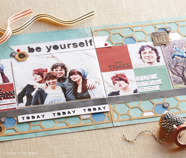 Be Yourself Layout