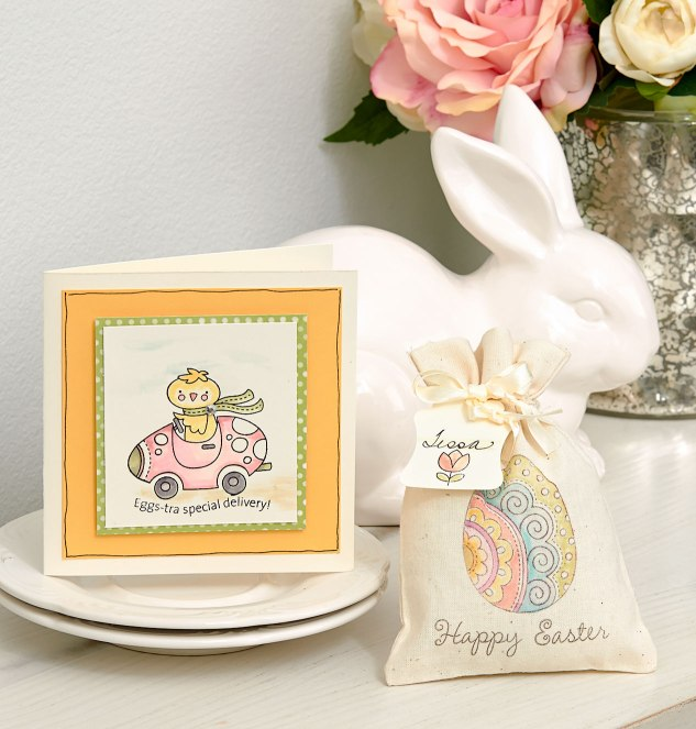 Easter Stamp Artwork