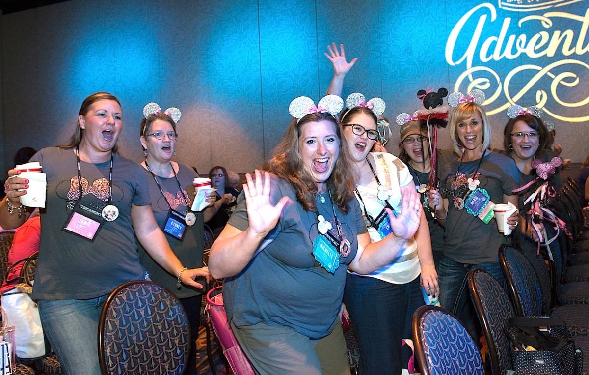 Convention excitement