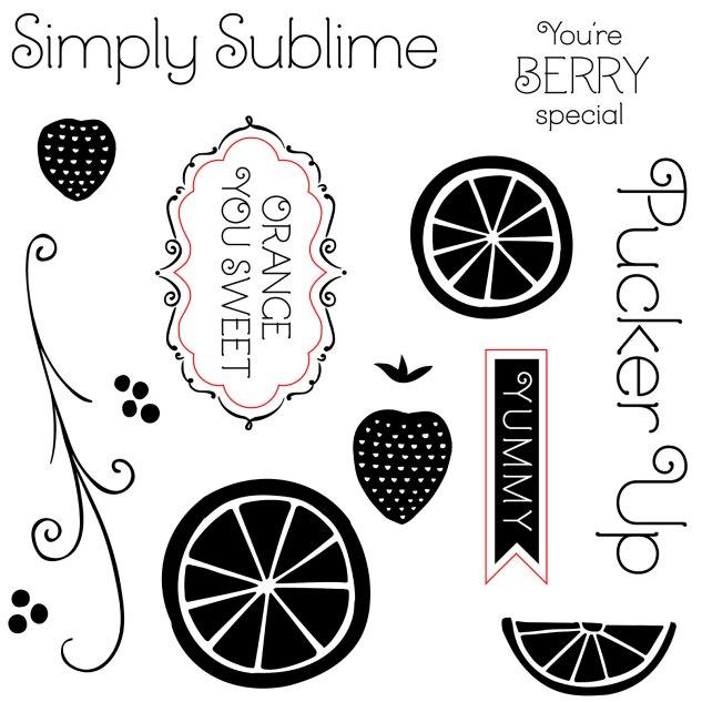 NSM Taste of Summer stamp set