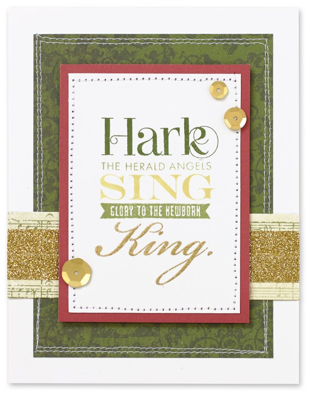 Hark the Herald Angels Sing card