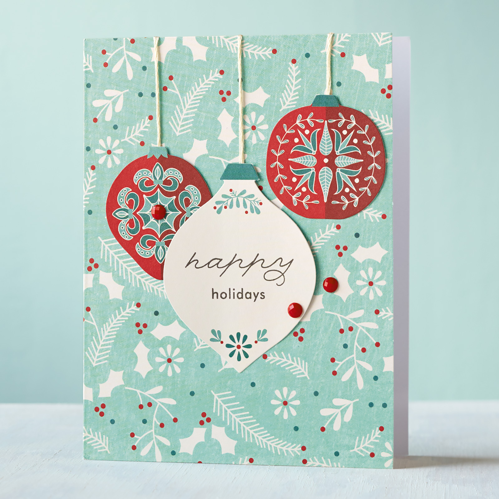 Close To My Heart Card Making Ideas Part - 34: CTMH Cut Above™ Deck The Halls Card Kit