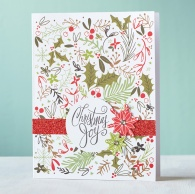 CTMH Cut Above™ Boughs & Berries Card Kit