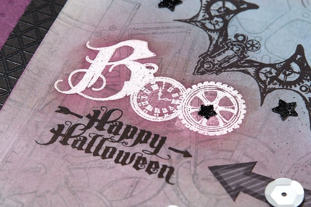 Boo embossing CTMH