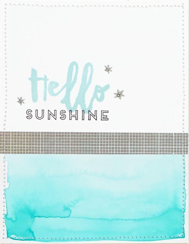 Hello, Life Cardmaking 2