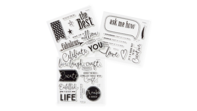 Business Builder stamp sets