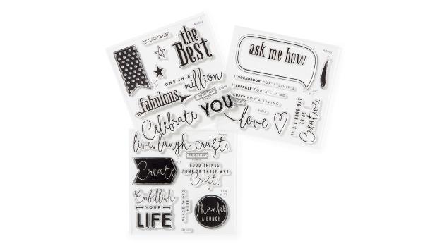 Business Builder stamp sets