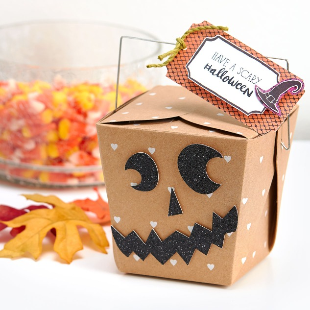 Create these adorable treat bags to give away! #ctmh
