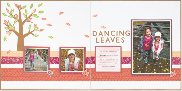 Have YOU tried this scrapbooking trick? #ctmh #closetomyheart #fallscrapbooking #Sangria #craftingtips