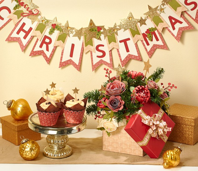 Create decor for your Christmas or New Year's Eve party! #CloseToMyHeart #ctmh #party #decor
