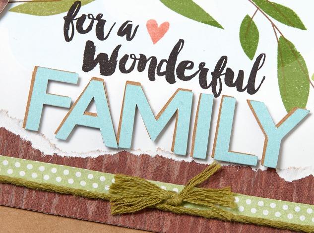 Create a beautiful family tree generations will cherish! #ctmh #closetomyheart #ctmhurban #ctmhzoe #diyfamilytree #familyhistory #familyphotos #scrapbookingideas