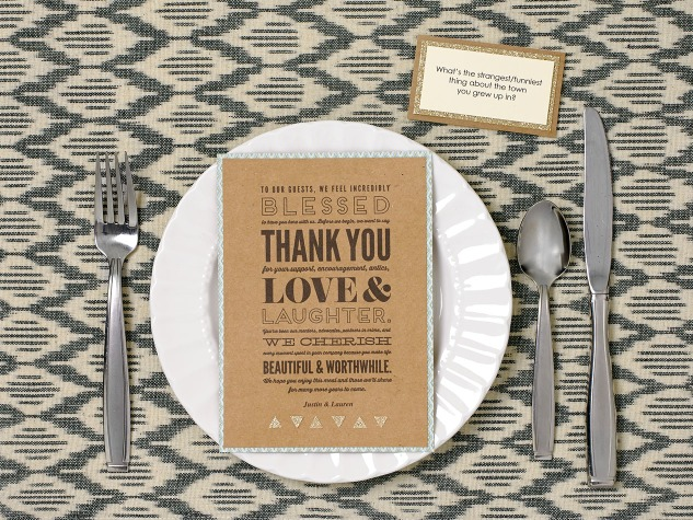 Create beautiful place settings for your next gathering! #closetomyheart #ctmh #dinner #dinnerparty #thankyou #gratitude