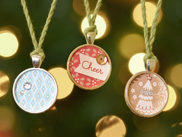 Use your Base & Bling and extra supplies to make Christmas ornaments! #CloseToMyHeart #ctmh #Christmas #decor #gift