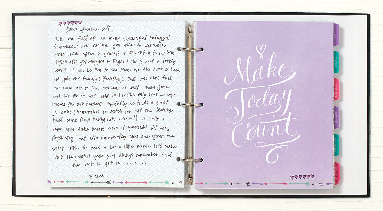 get inspired to accomplish your goals by writing a letter to yourself closetomyheart