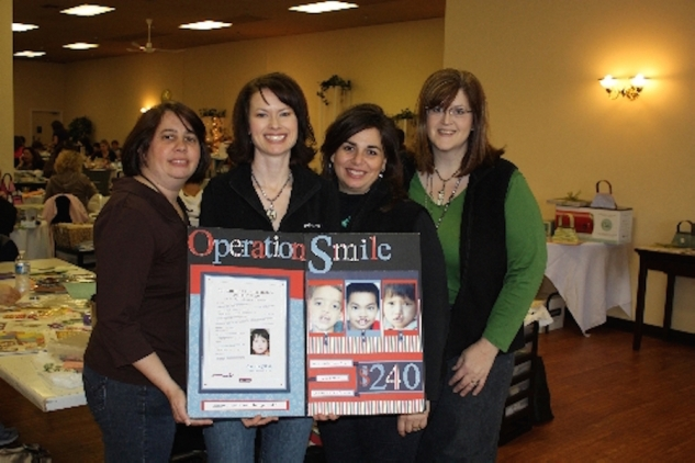 Learn about the amazing efforts these women have made to help Operation Smile! #ctmh #closetomyheart #scrapbooking #operationsmile