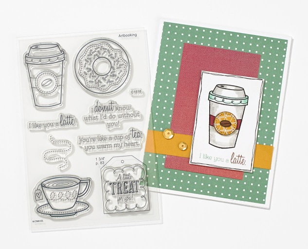 Sticky Boy's taken over the blog! Learn about how you can get free stamp sets and a free Sticky Boy! #ctmh #closetomyheart #stamping #ink #create #scrapbooking #cardmaking #papercrafts