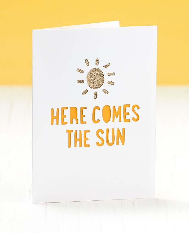 Send a box of sunshine to someone who needs a smile! #ctmh #closetomyheart #boxofsunshine #paperaddict #handmade #giftideas