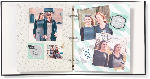 5 ways to use Instalife™ City Limits cards #ctmh #closetomyheart #ctmhinstalife #minialbum #scrapbooking