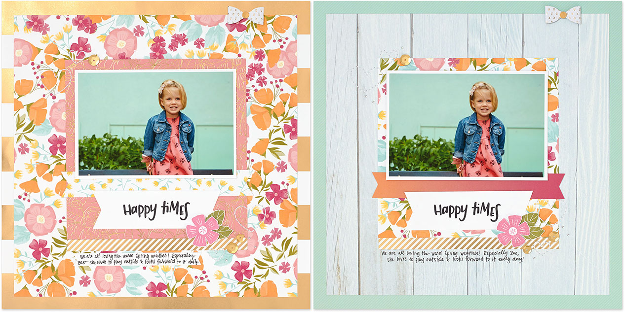 Tips For Mixing Patterned Paper Make It From Your Heart