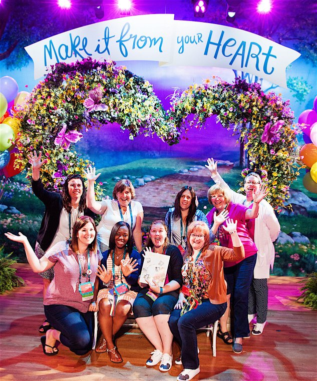 The many emotions of Close To My Heart Convention! #closetomyheart #ctmh #makeitfromyourheart #insideout #ctmhconv2016