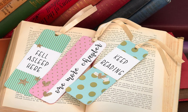 Make your own bookmarks to celebrate National Book Lovers Day! #ctmh #closetomyheart #papercrafting #diybookmarks #homemadebookmarks #reading #diygiftideas