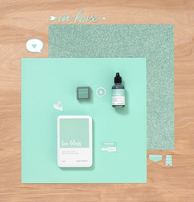 Introducing Sea Glass, our first-ever Color of the Year! #ctmh #closetomyheart #seaglass #mint #scrapbooking #cardmaking #crafting #colorinspiration #trendycolor