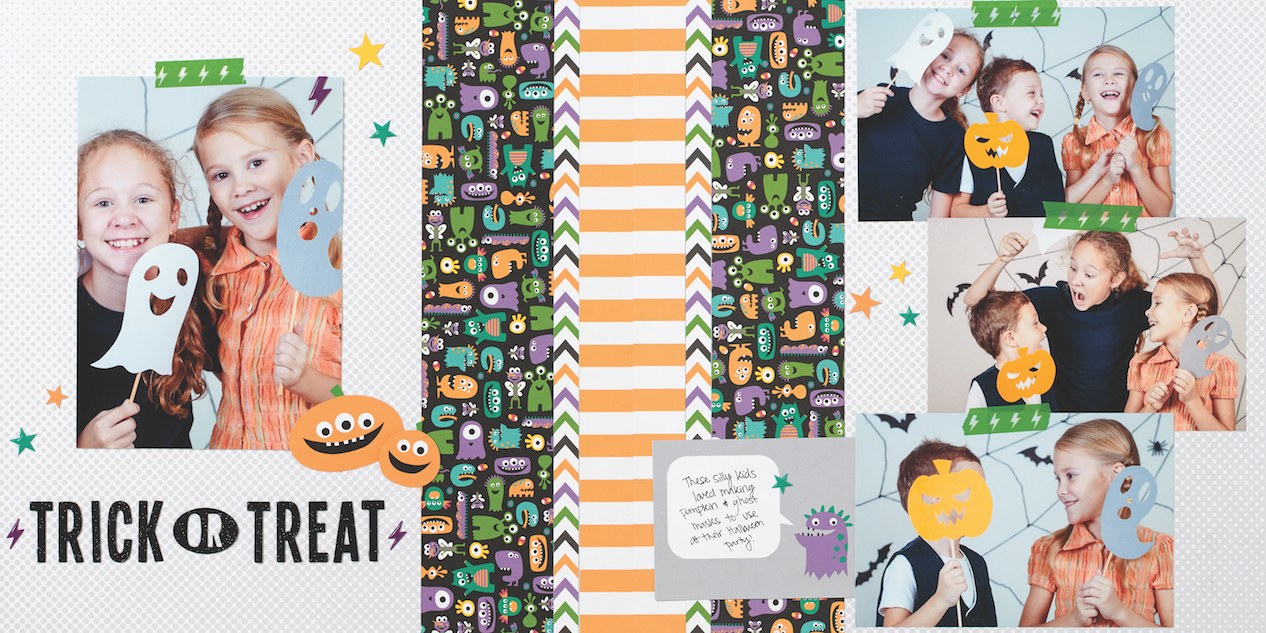 Halloween Scrapbookingmade Easy Make It From Your Heart