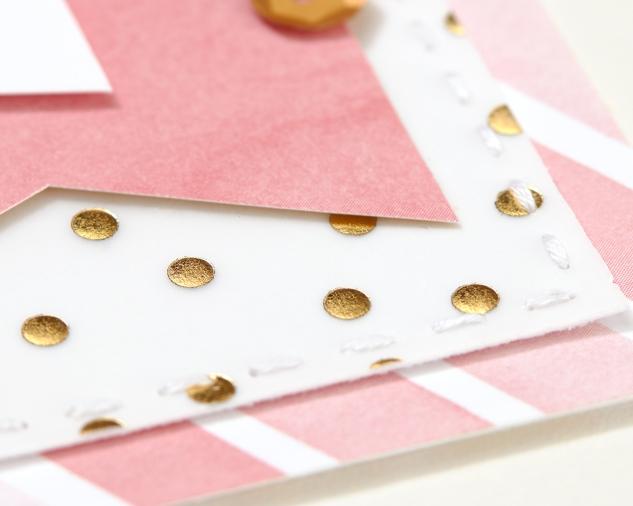 5 ways to attach vellum with out the adhesive showing! #ctmh #closetomyheart #craftingtips #tipsandtricks #paperhacks #howtoattachvellum #vellum