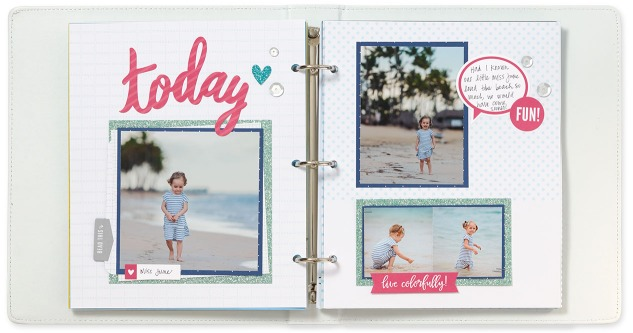 Preserving your memories in a mini album has never looked so cute! #ctmh #closetomyheart #minialbum #scrapbooking #memorykeeping #crafting