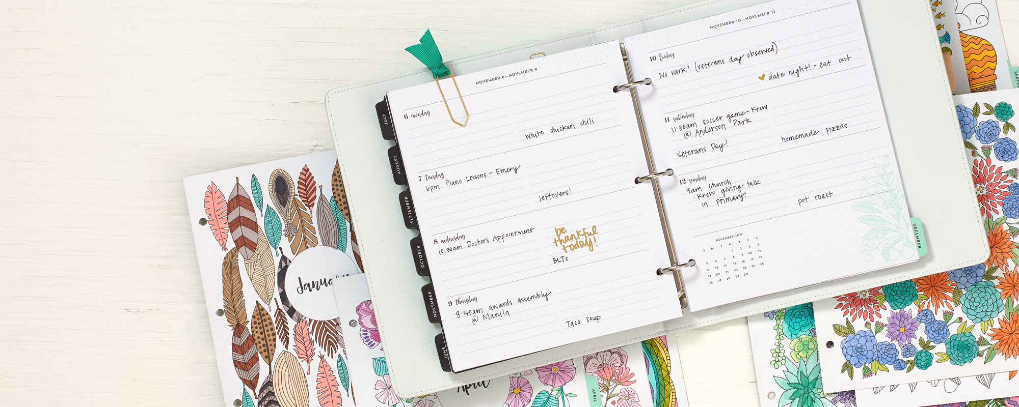 planner make it from your heart