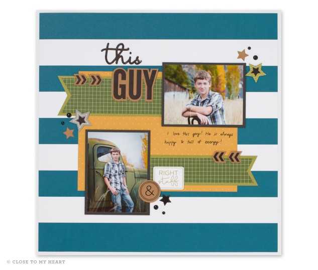 New products from Close To My Heart! #ctmh #closetomyheart #ctmhfundamentals #boyscrapbook #scrapbooking