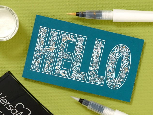 4 awesome stamping techniques #ctmh #closetomyheart #stamping #scrapbooking #embossing #how #diy #tips #tricks
