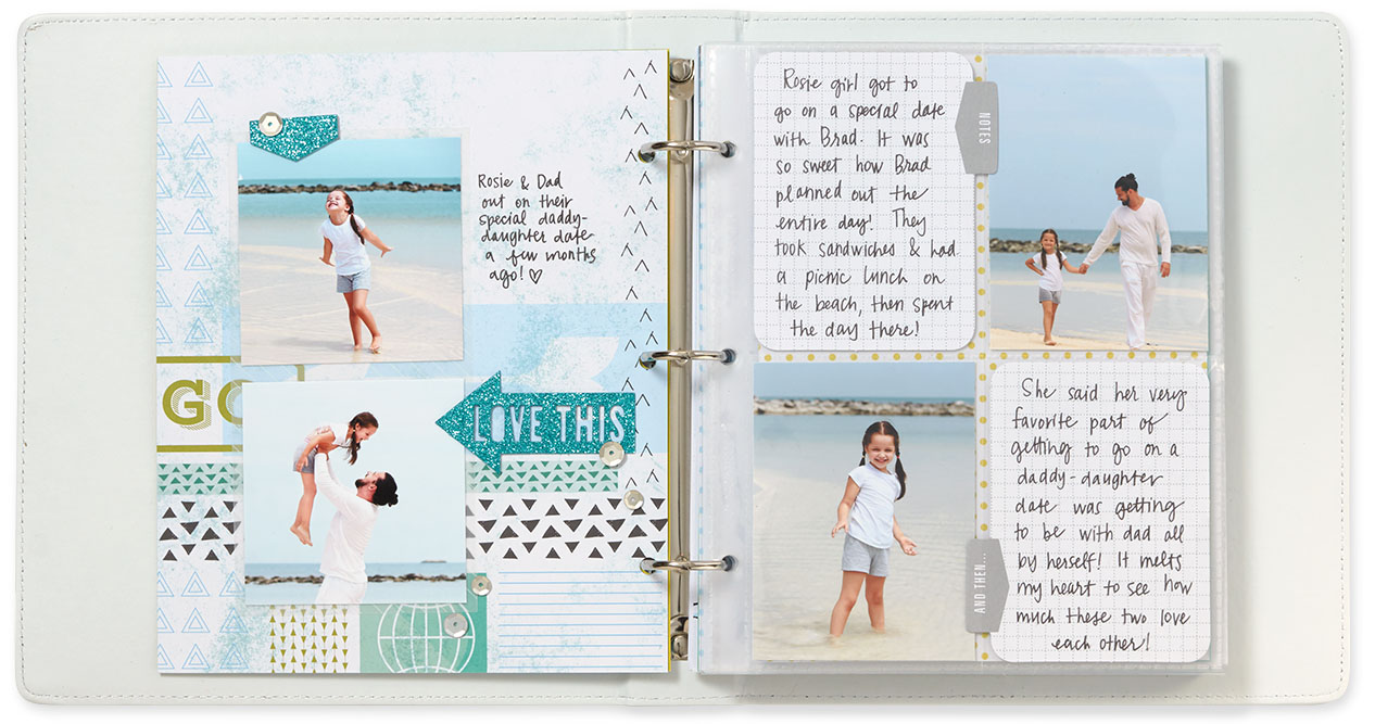 Scrapbooking Make It From Your Heart Page 3