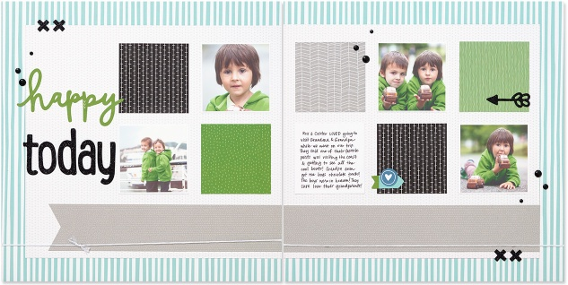 Some Kinda Wonderful paper collection #closetomyheart #ctmh #somekindawonderful #bestfriends #brothers #boy #scrapbooking #inspiration