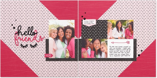 Some Kinda Wonderful paper collection #closetomyheart #ctmh #somekindawonderful #bestfriends #scrapbooking #inspiration