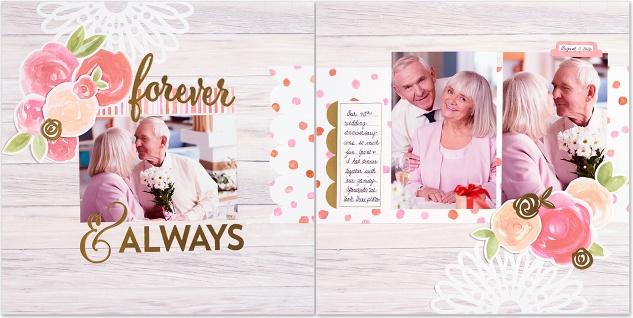 Quick scrapbooking kits—no cutting required! #closetomyheart #ctmh #cutabove #wedding #anniversary #love #baby