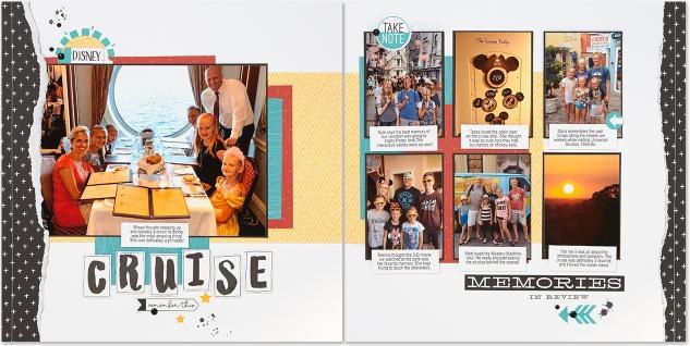 Ideas for organizing your scrapbook albums #ctmh #closetomyheart #scrapping #scrapbooking #familymemories #familyfun #family #cruise