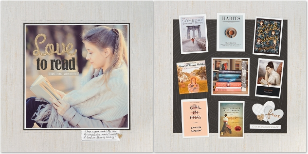Ideas for organizing your scrapbook albums #ctmh #closetomyheart #readinglayout #scrapping #scrapbooking #readingscrapbook #reading