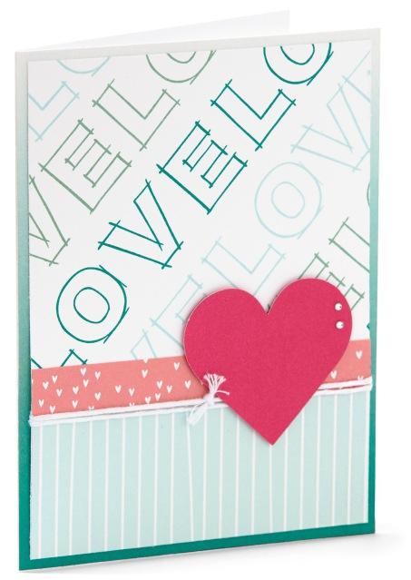 Love Card #closetomyheart #ctmh #cardmaking #lovecard #love #alphabetstamp #stamping