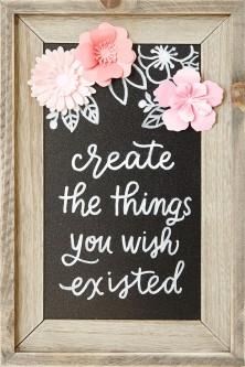 Large Scale Inspiration #ctmh #closetomyheart #papercrafting #paperhearts #hearts #mobile #inspiration #inspiringcreativity #creativity #quote #createthethingsyouwishexisted #create