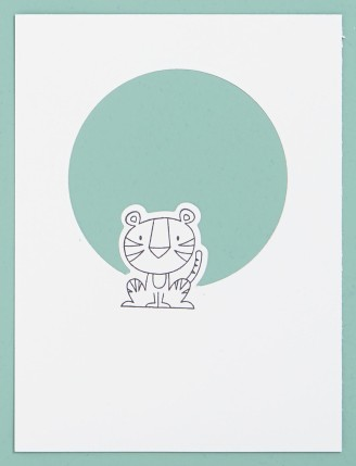 Thin Cuts Technique #ctmh #closetomyheart #thincuts #dies #diecuts #cardmaking #diy #wildaboutyou #animals #zooanimals #lion #monkey #tiger