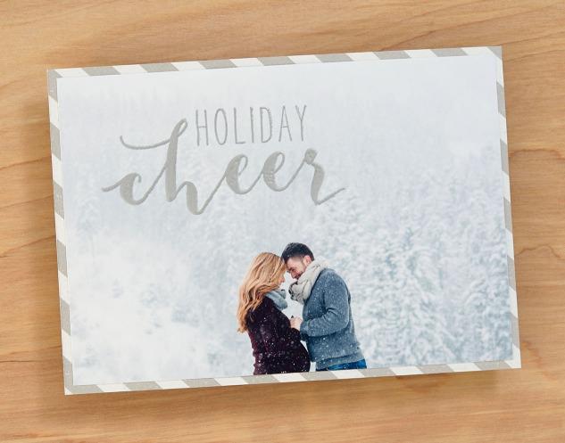 DIY Photo Cards #ctmh #closetomyheart #diy #photo #card #holiday #Christmas #cheer #snow