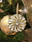 art from the heart #ctmh #closetomyheart #festivaloftrees #Chrismas #tree #paper #ornaments