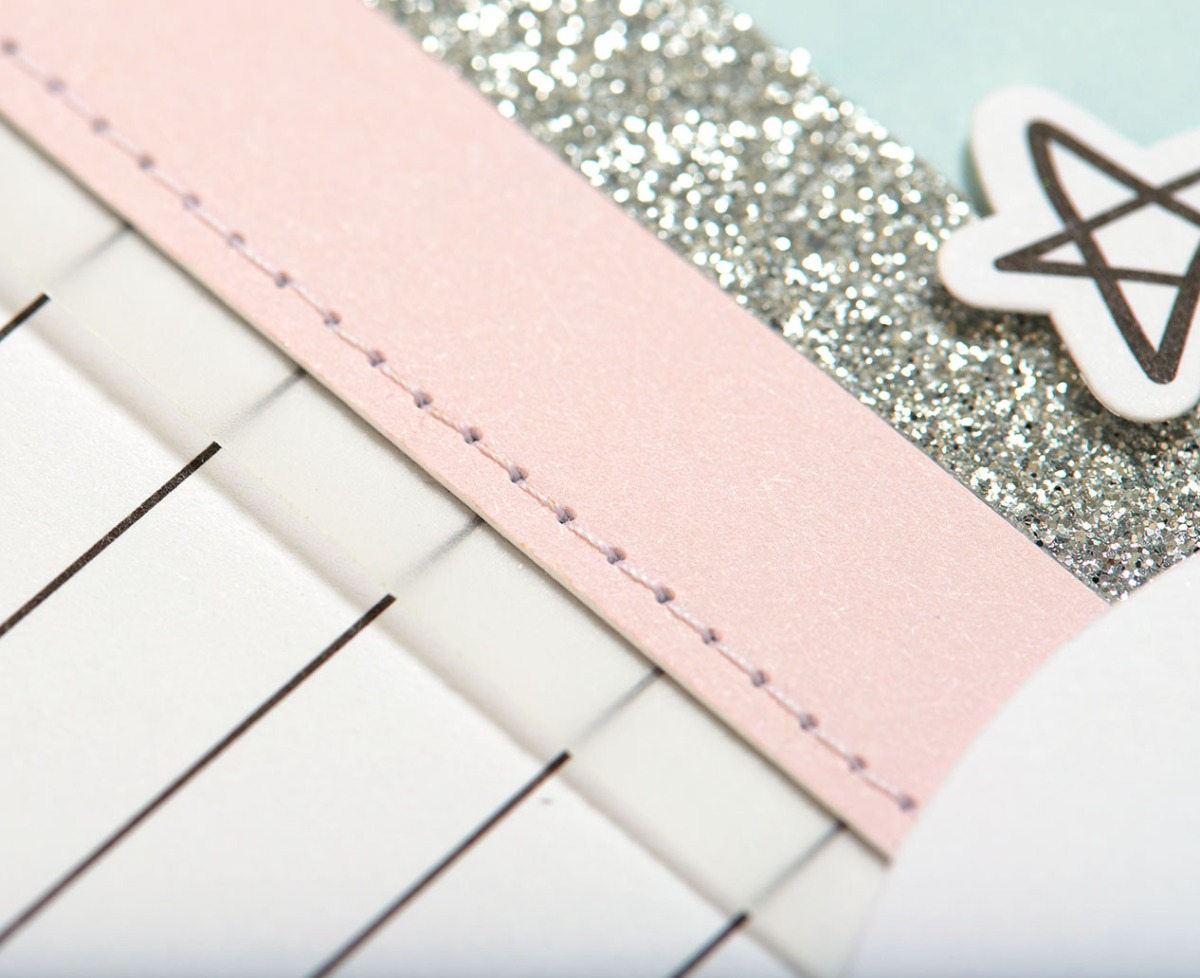 Pastel Christmas Trend #ctmh #closetomyheart #pastel #Christmas #trend #bashful #silver #glitter #pink #lightblue #juniper #December #cardmaking #season